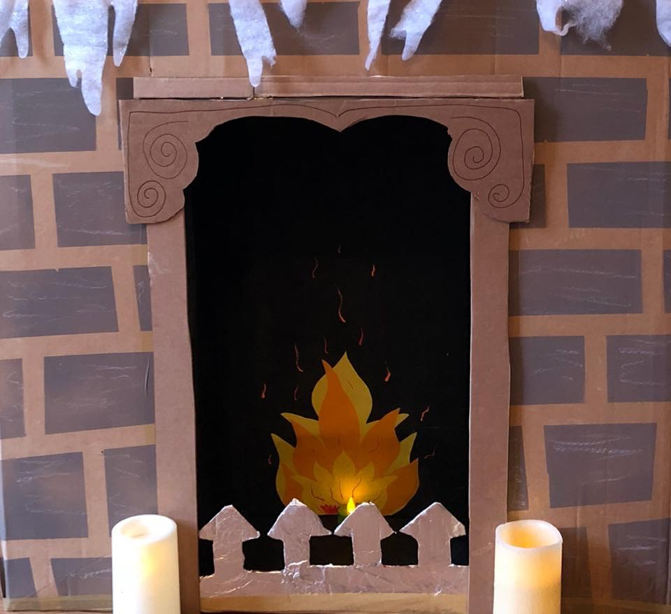 Building a Fireplace for Santa