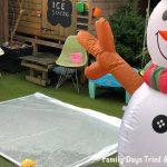 Homemade Garden Ice Rink
