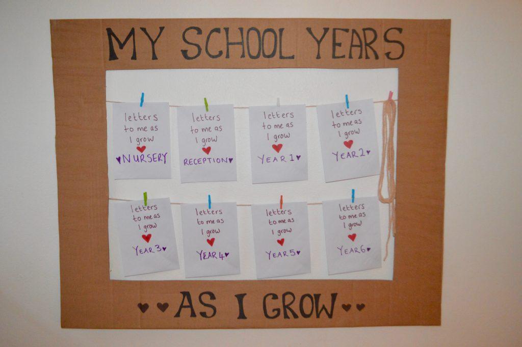 School Years Memory Frame