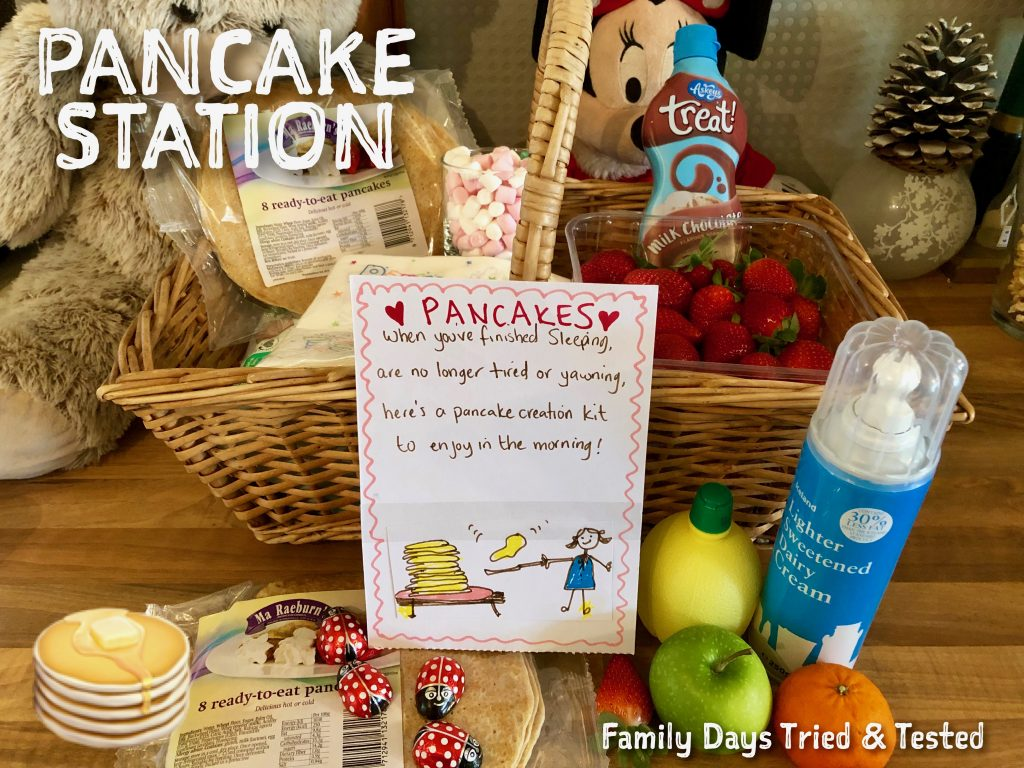 Sleepover Ideas - Pancake Station