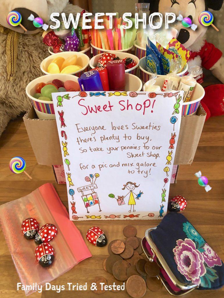 Sleepover Ideas - Sweet Shop