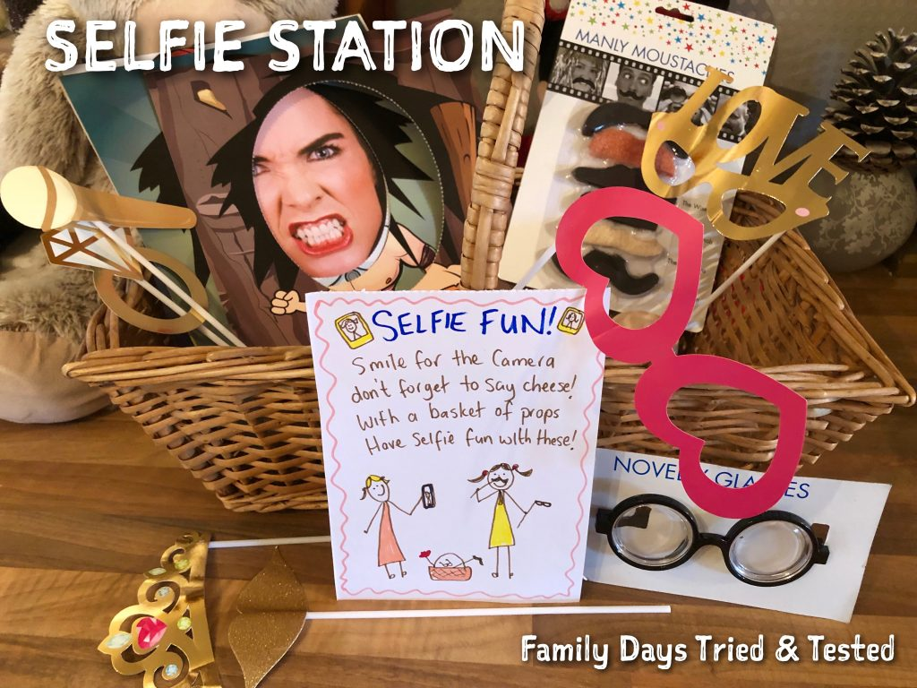 Sleepover Ideas - Selfie Station