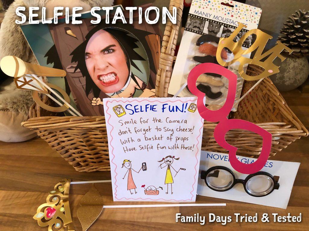 Sleepover Ideas - Selfie Station
