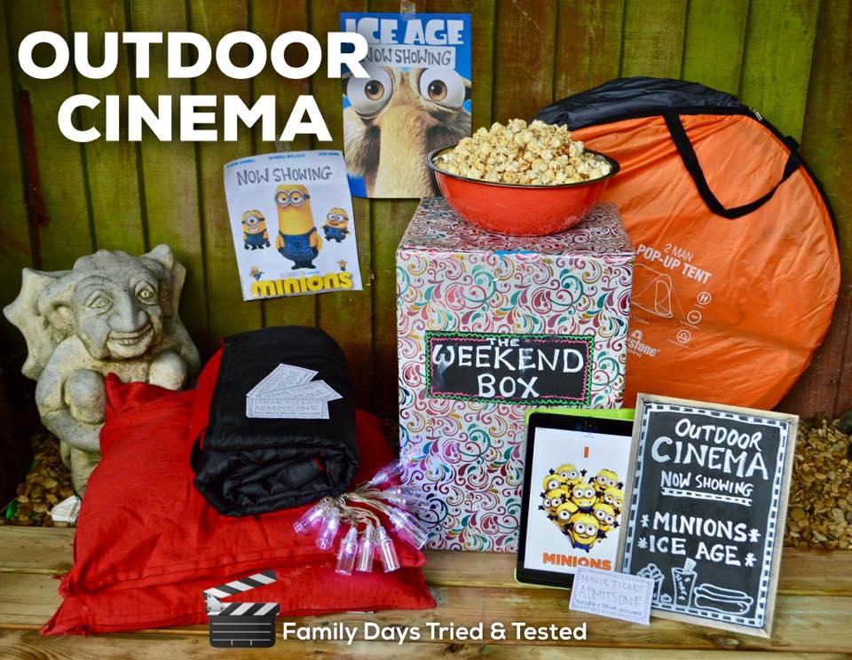 Family Fun Things to do at Bluestone - outdoor cinema