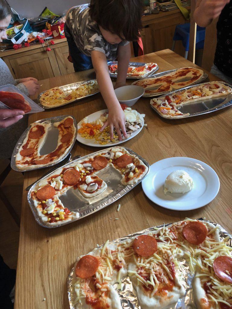 Family Fun Things to do at Bluestone - pizza night