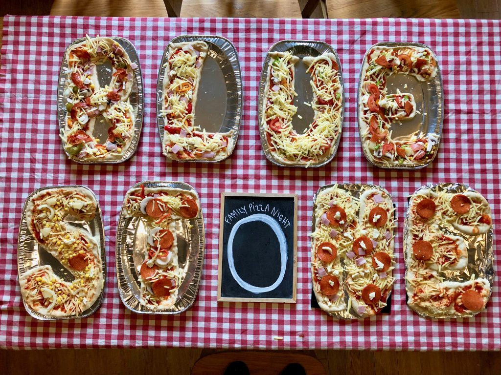 Personalised Pizzas