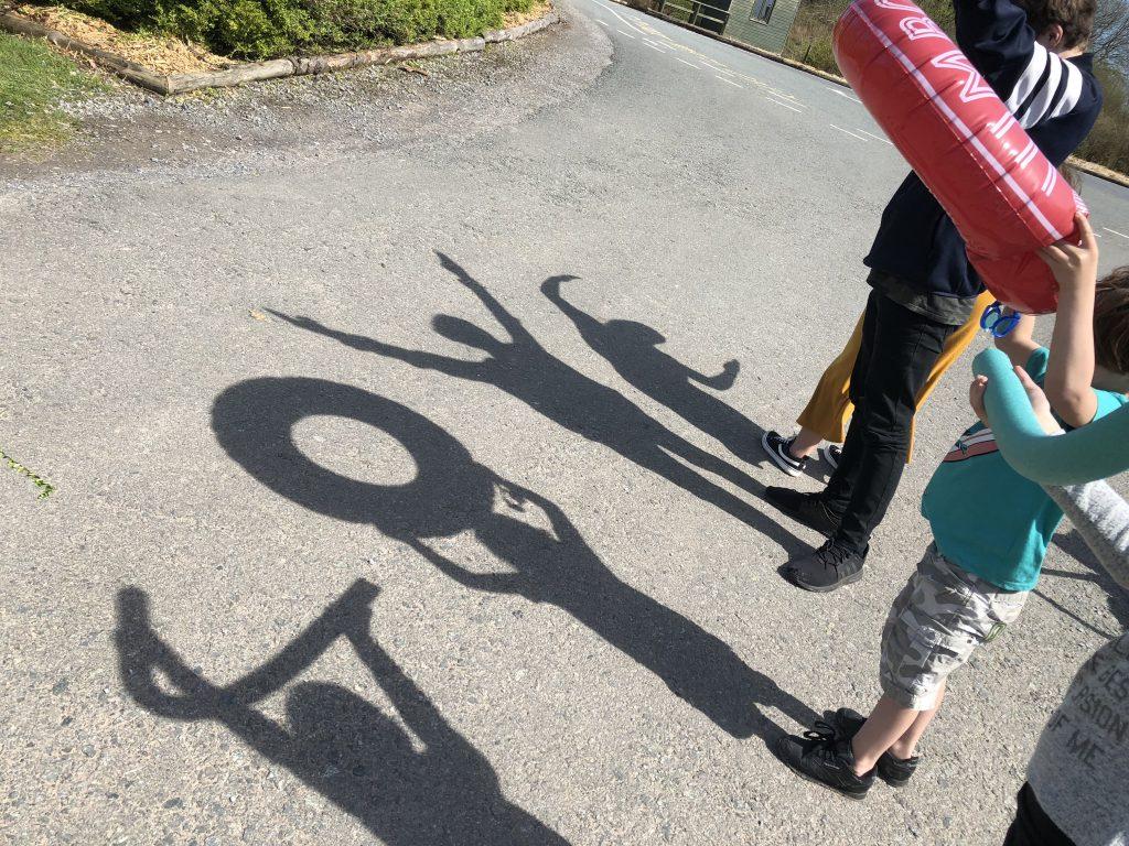 Family Fun Things To Do At Bluestone - play shadows