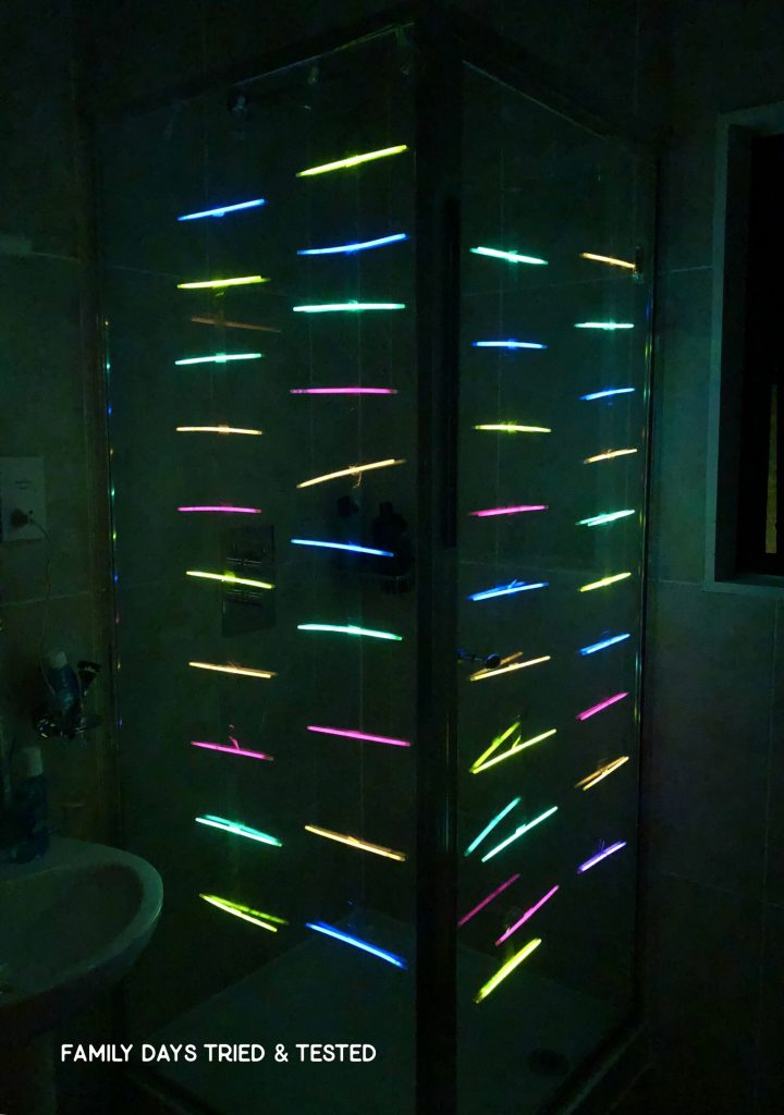 Glow In The Dark Shower