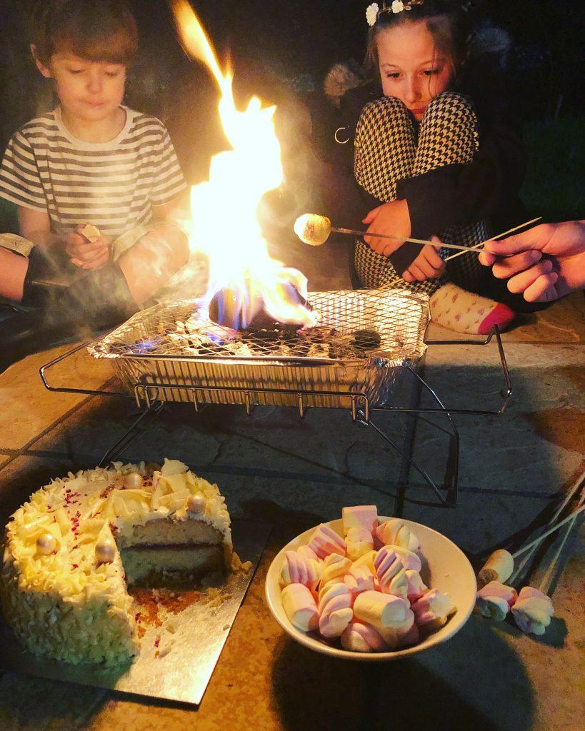 Family Fun Things to do at Bluestone - toast marshmallows
