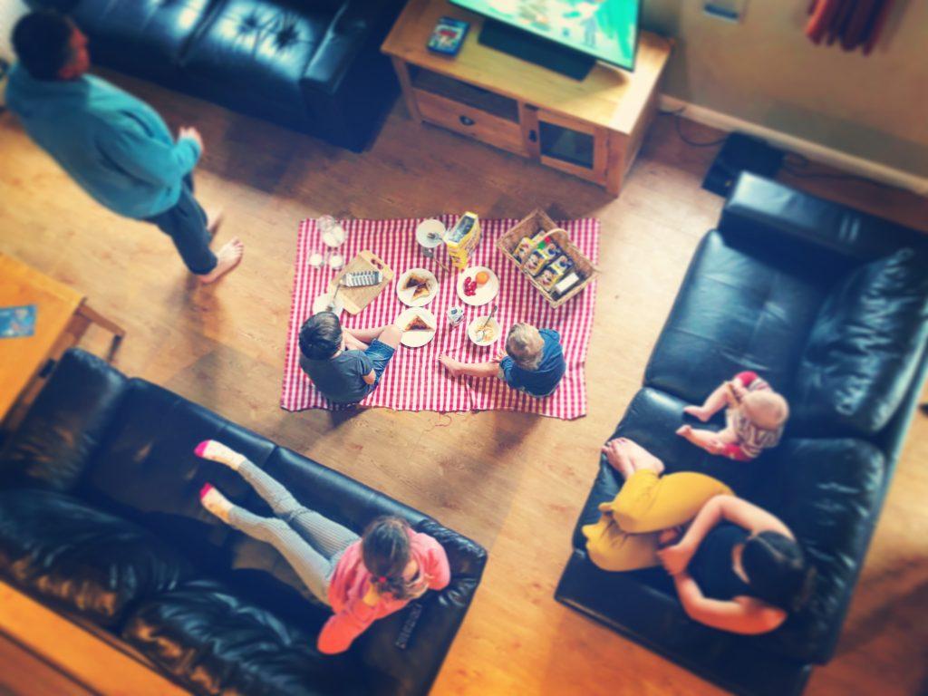 Family Fun Things to do at Bluestone - carpet picnic