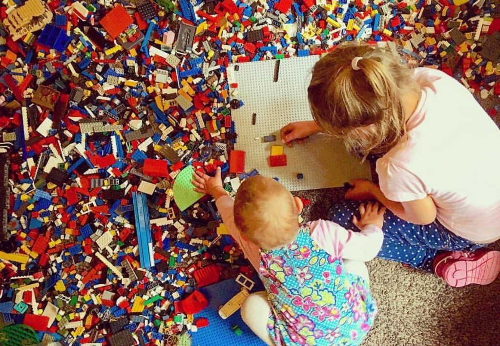 Family Fun Things to do at Bluestone - play with LEGO