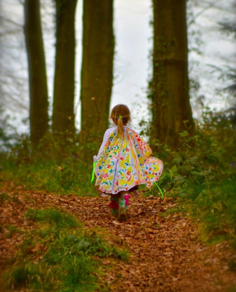 Family fun things to do at Bluestone - make no-sew fairy wings