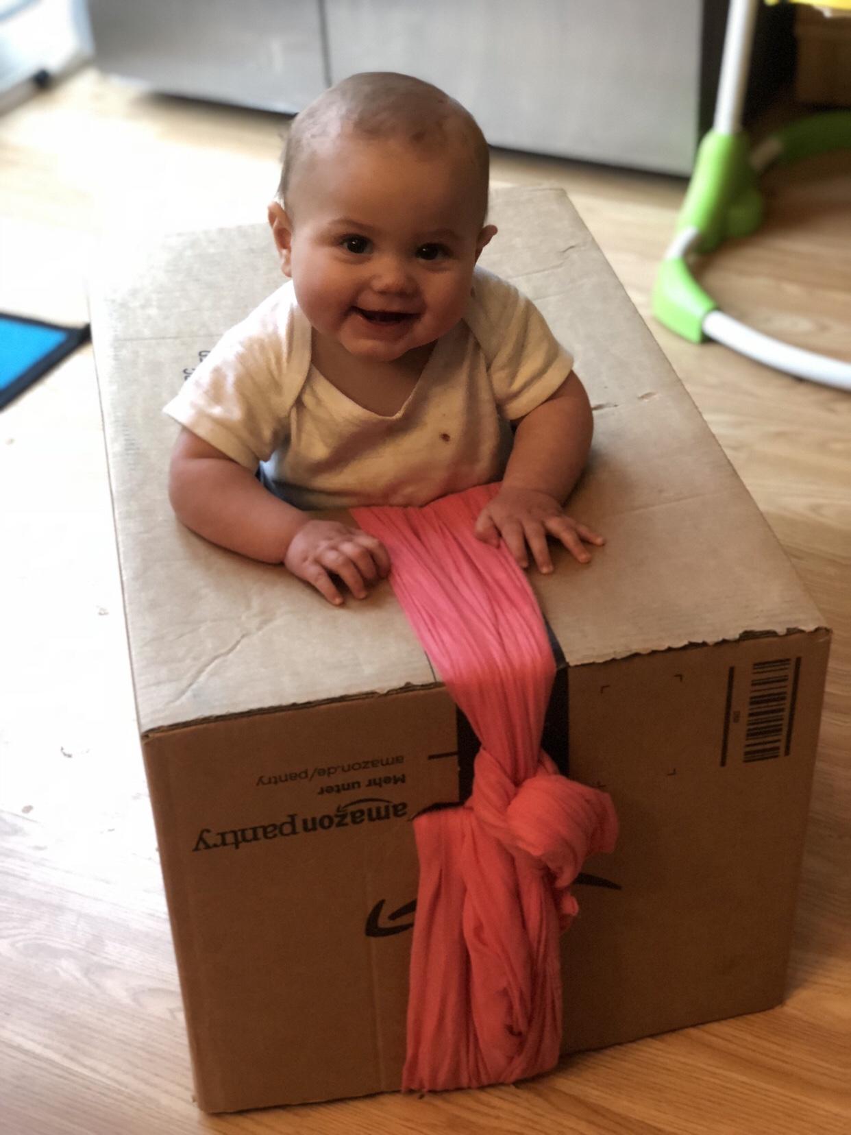 Camper Van Box Baby Walker