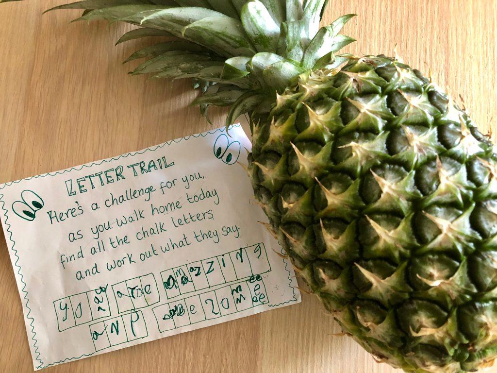 Letter Trail