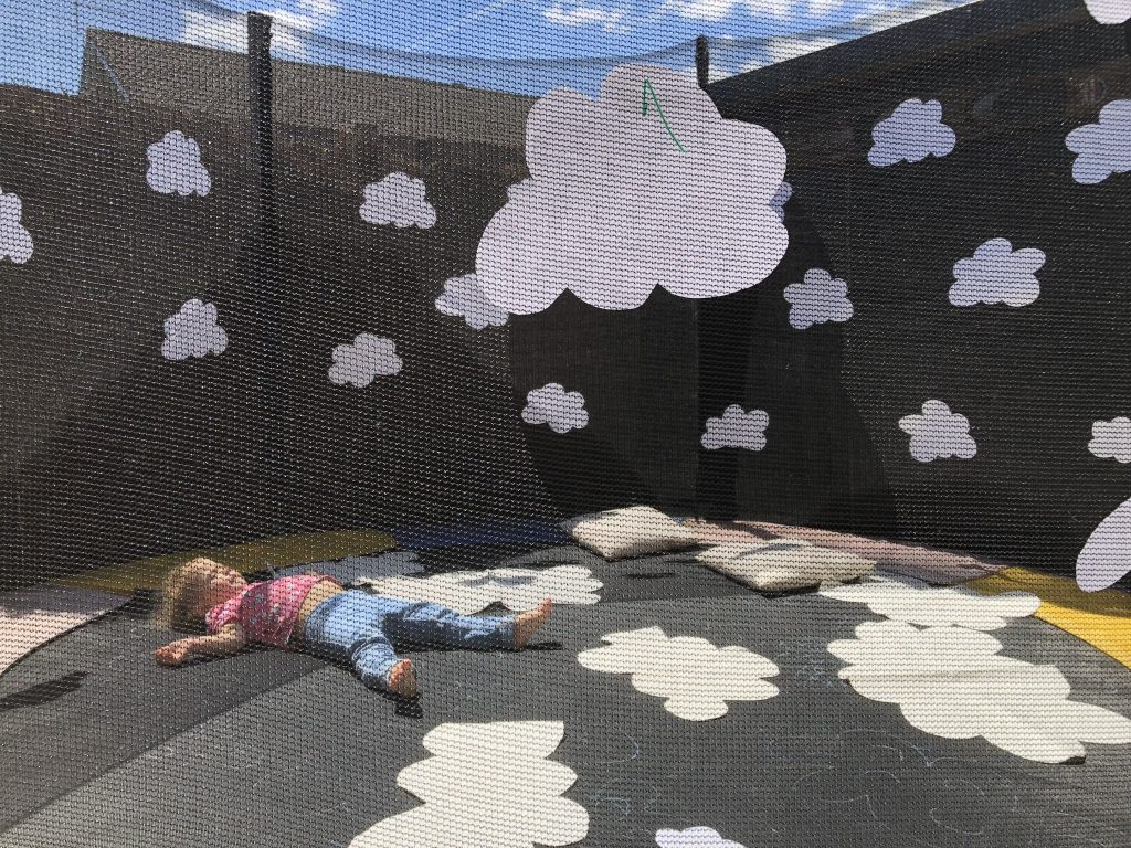 Trampoline Cloud Watching Arena
