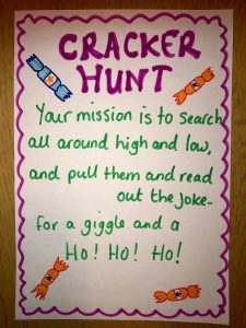 Christmas Cracker hunt