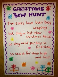 Christmas Bow Hunt sheet