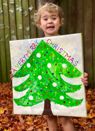 Christmas Canvas Keepsake