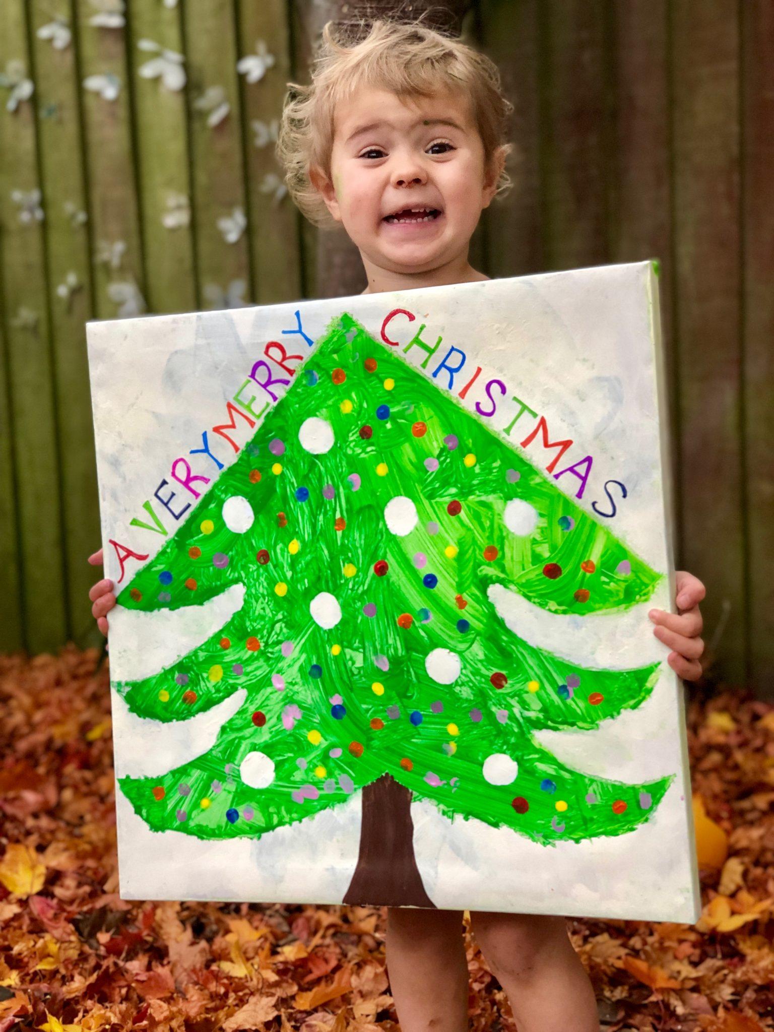 Christmas Canvas Keepsake
