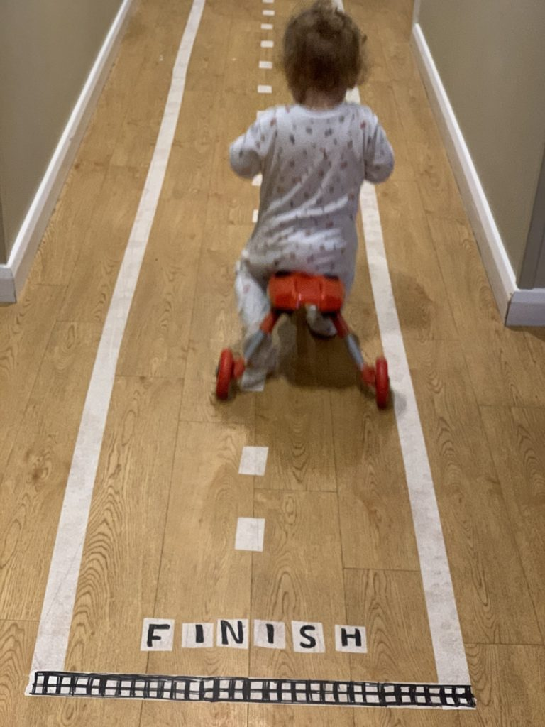 masking tape road races