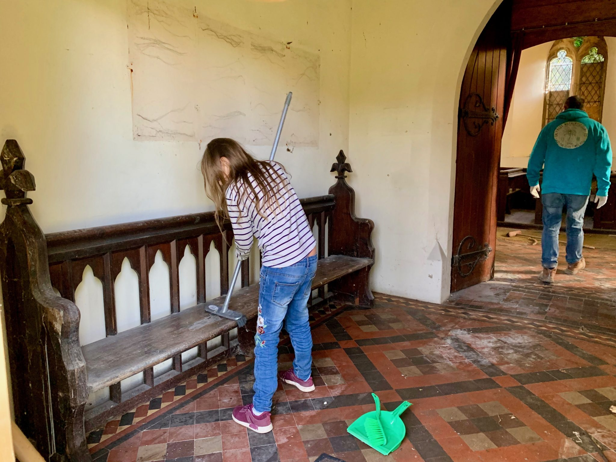 Clean Up Begins At Holly House