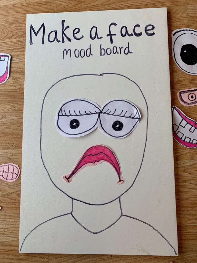 Emotions Mood Board
