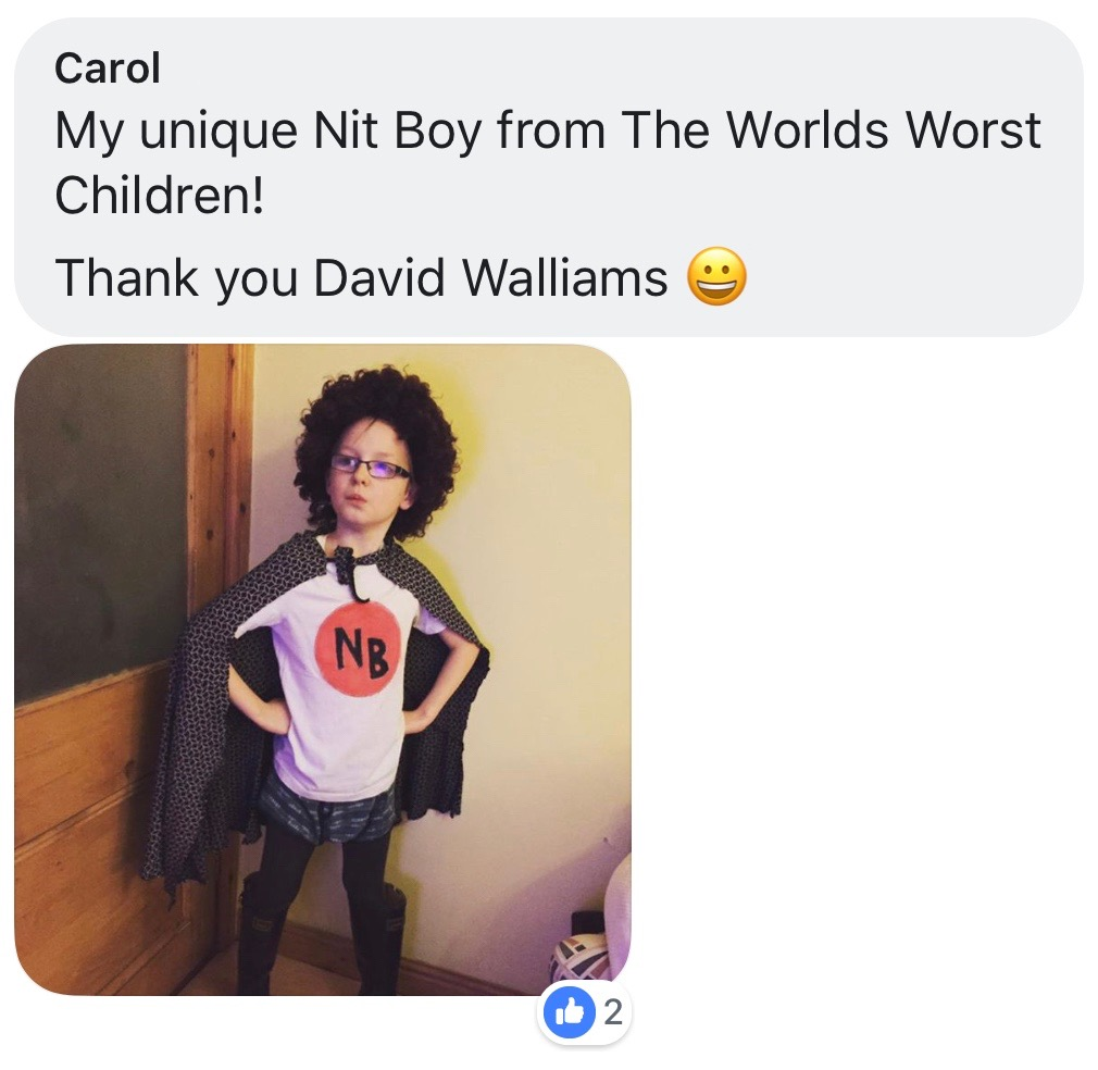 World Book Day costume ideas - World's Worst Children
