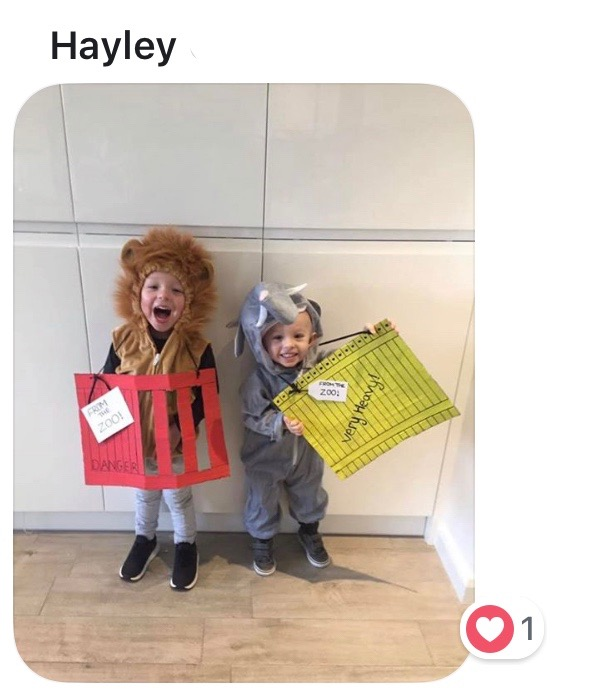 World Book Day costume ideas - Dear Zoo