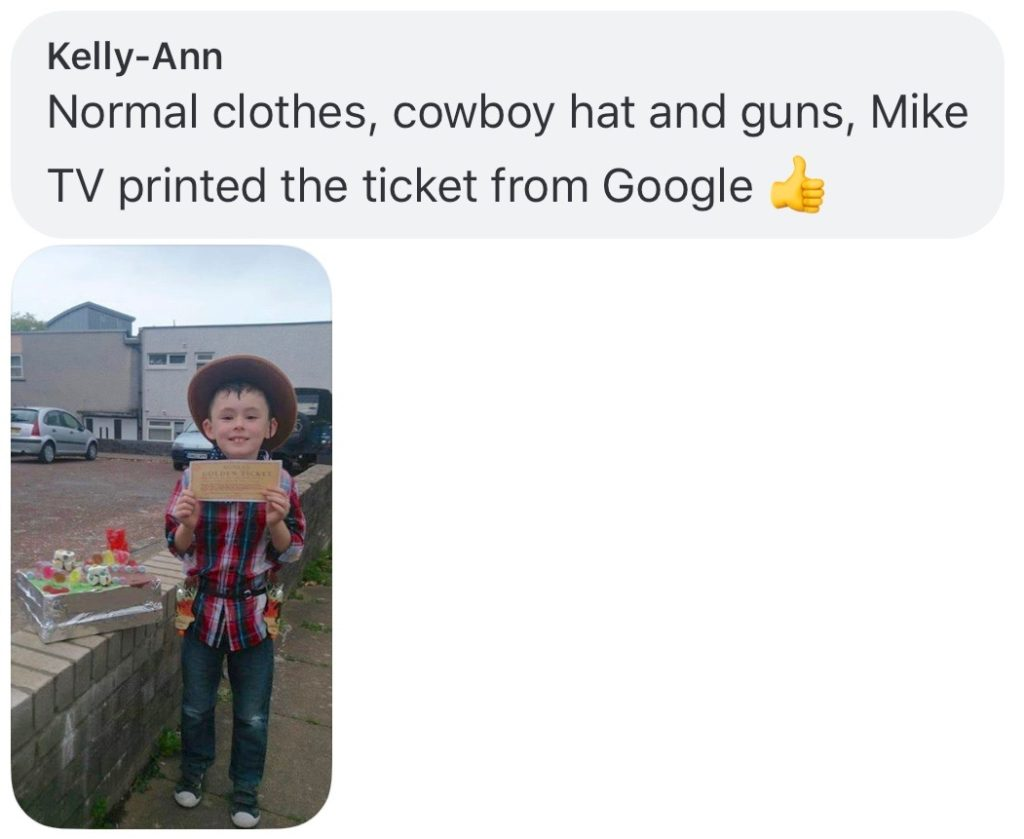 World Book Day costume ideas - Mike TV