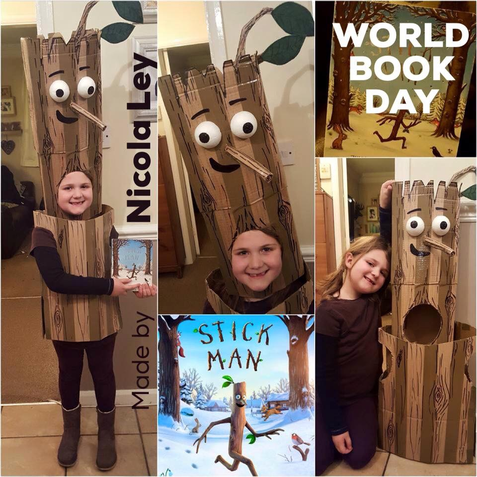 World Book Day costume ideas - Stick Man