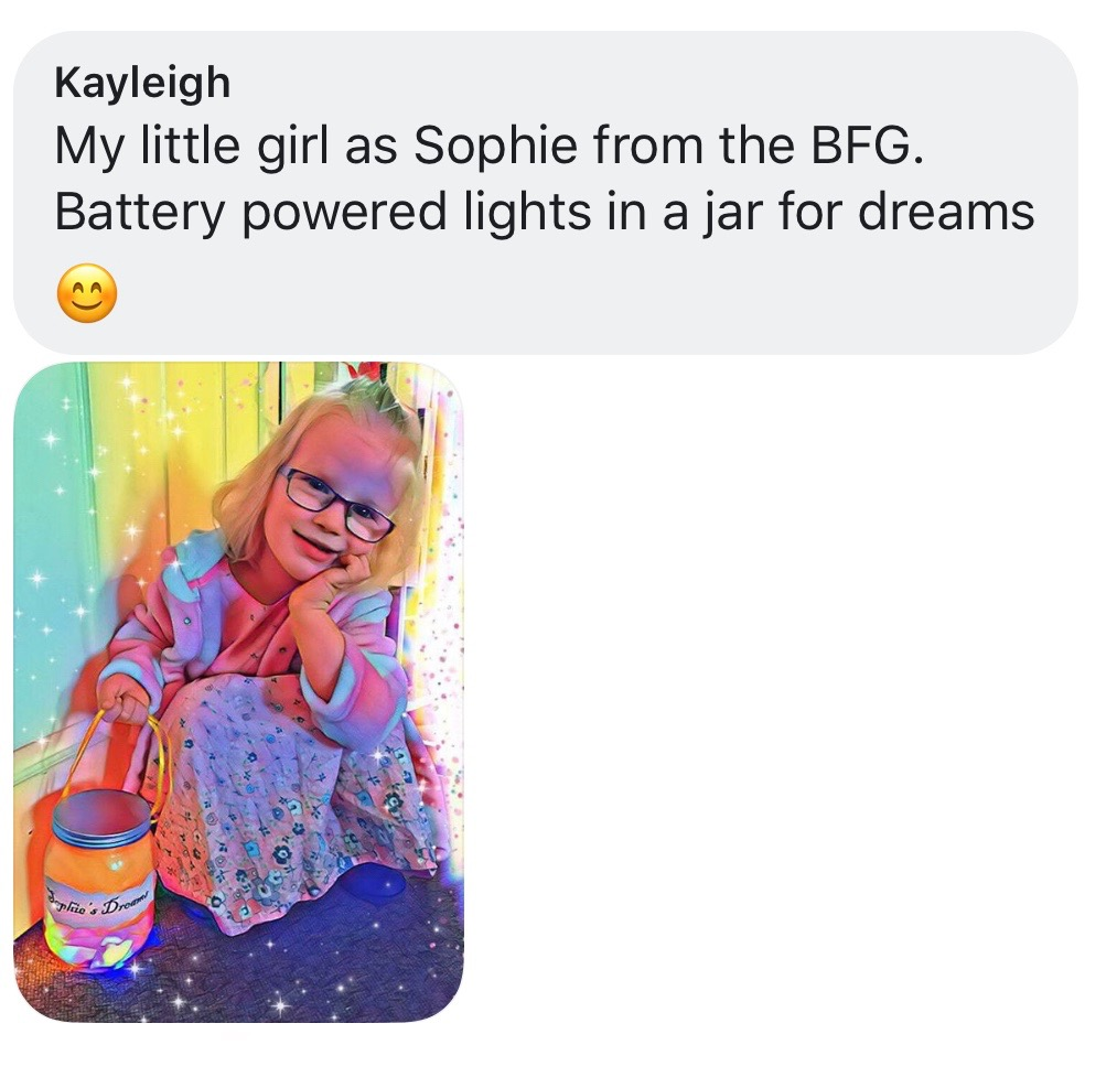 World Book Day costume ideas - Sophie from BFG