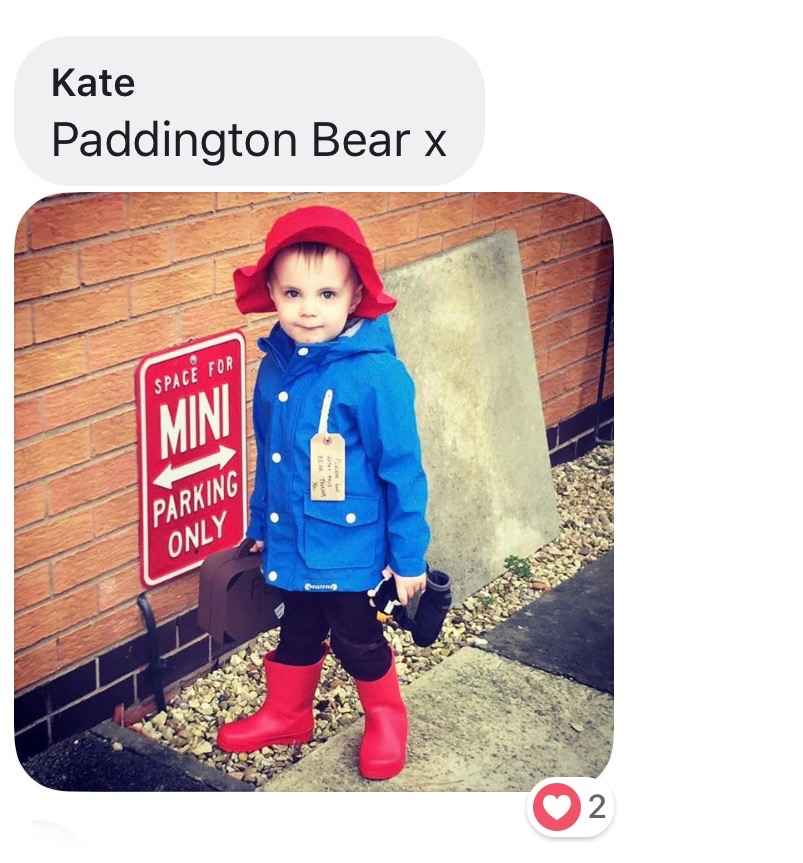 World Book Day costume ideas - Paddington Bear