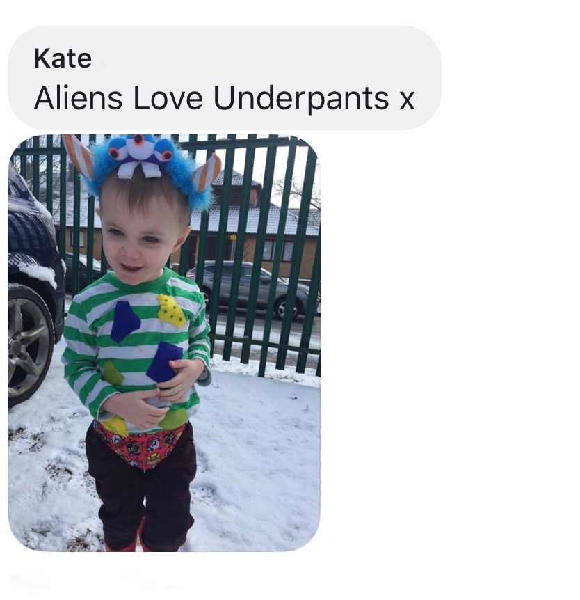 World Book Day costume ideas - Aliens Love Underpants