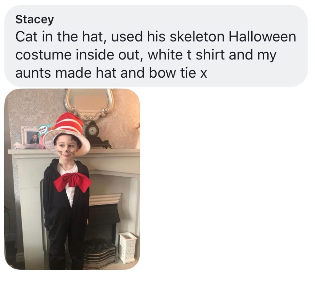 World Book Day costume ideas - Cat in the Hat