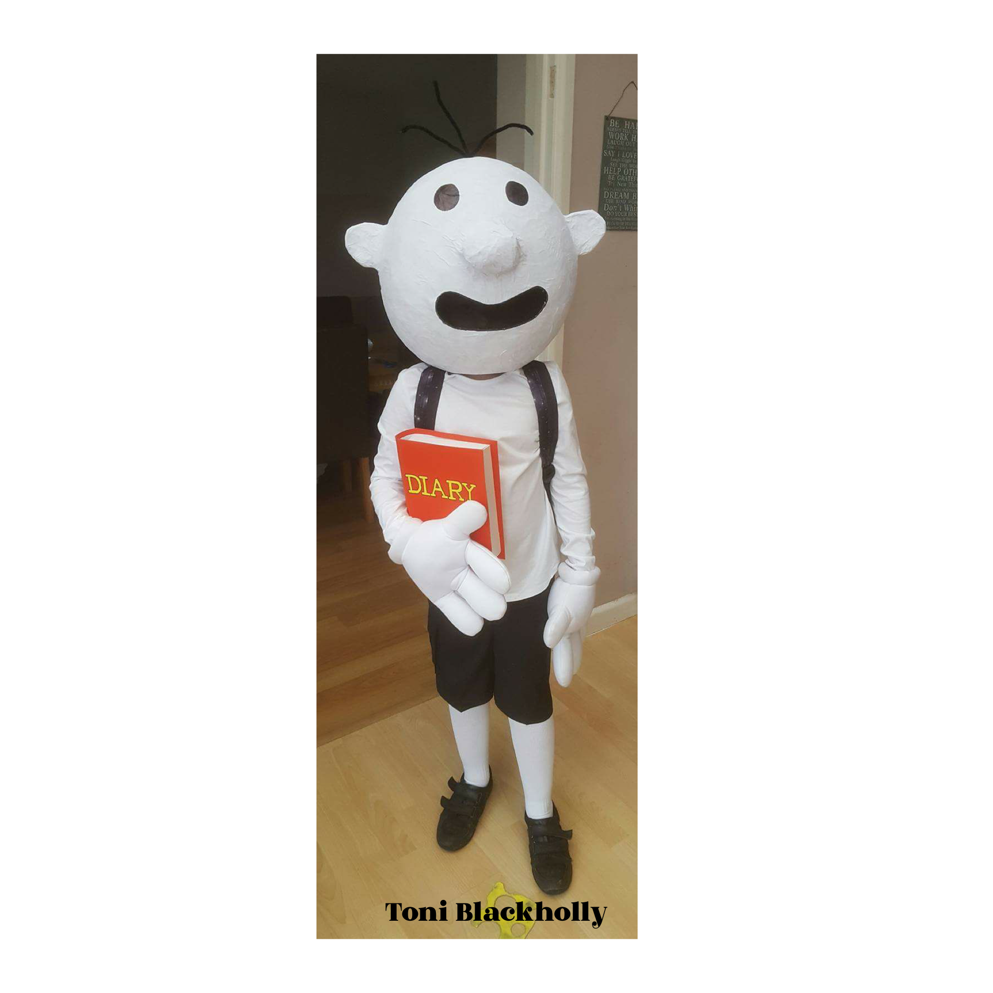 World Book Day costume ideas - Diary of a Wimpy Kid
