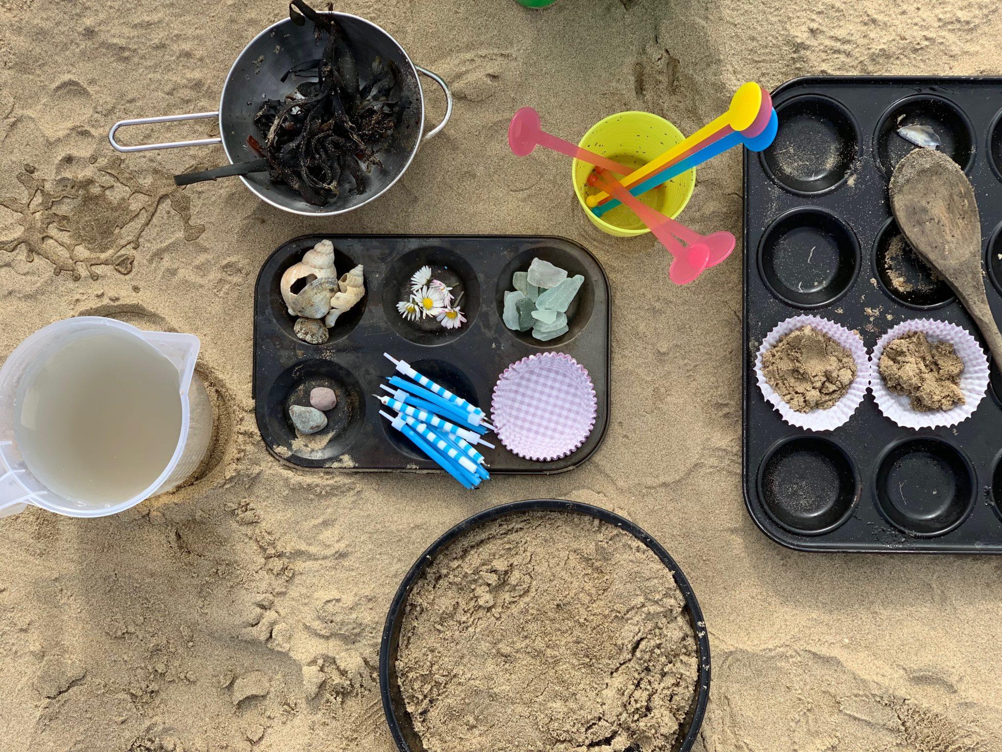 Sand Mud Pie Creation Station