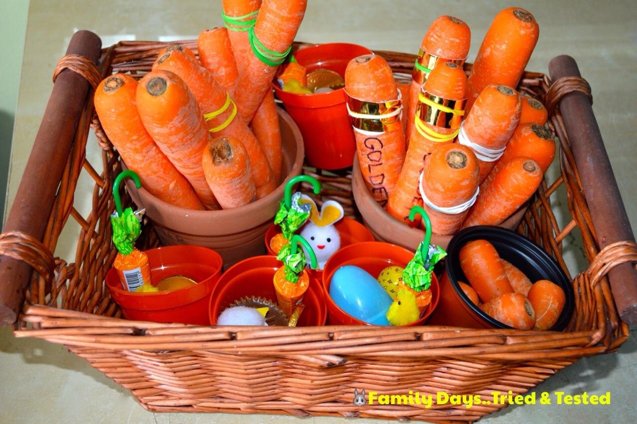 Rustic carrot hunt