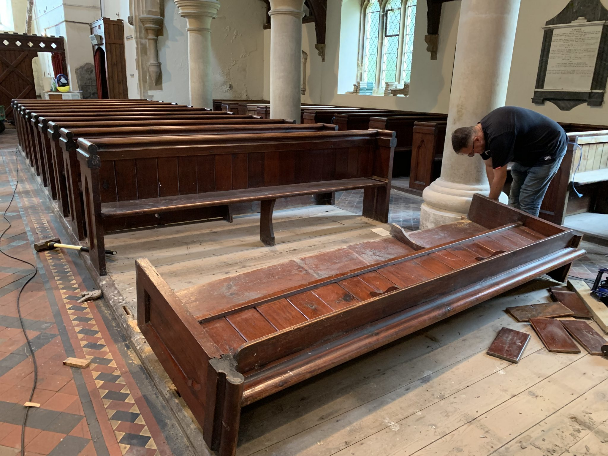 Removal Of The Pews