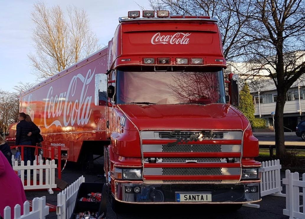 Cola Truck Tour 2021